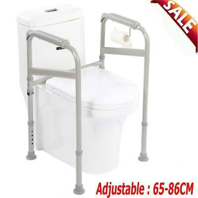 Portable Toilet Safety Surround Support Frame Grab Handle Disability Aid Assist