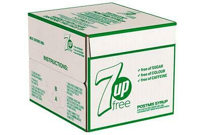 7ltr 7up Free Bag In Box (Post Mix) - 2 months minimum Dates
