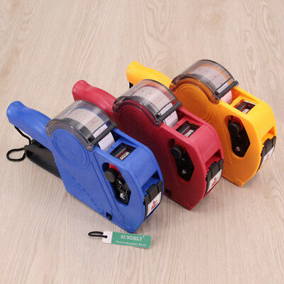8 Digits Price Tag Gun Labeler Retail Tool For Home / Office MX-5500 EOS