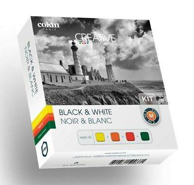 Cokin P Series B&W filter kit H400-03-Yellow, Orange, Red & Green New & Unboxed