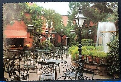 Vintage Postcard Louisiana New Orleans Pat Obrien's Courtyard 1970s