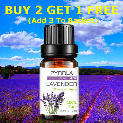 Essential Oils Set 100% Pure Oil Fragrances For Aromatherapy Diffusers 10ml Kit