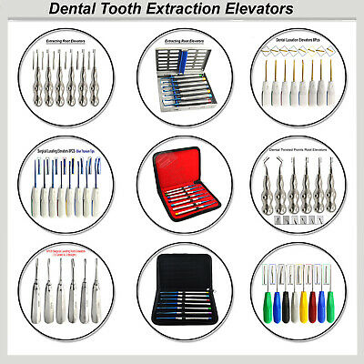 Surgical Veterinary Luxation Ascenseurs Teeth Extraction Root Elevators Medentra