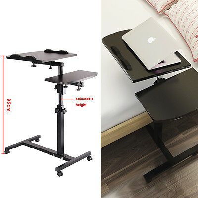 Adjustable Portable Laptop Desk  Lazy Table Stand Lap Sofa Bed Computer Notebook