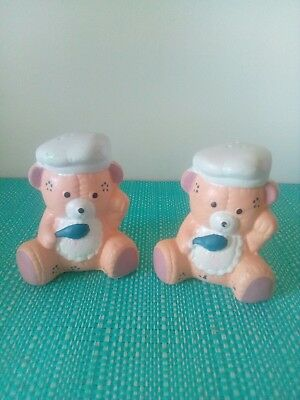 Bears with spoons Salt And Pepper Shakers.