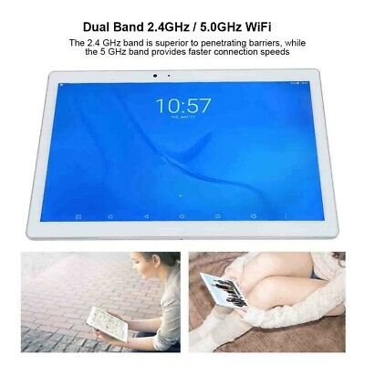 10 POLLICI 4GB+64GB Tablet PC Android 7.0 2.4GHz/5.0GHz WIFI 13.0MP+8.0MP GPS EU