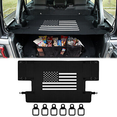 Cargo Cover Rear Trunk Protector Shade For Jeep Wrangler Jl Jlu