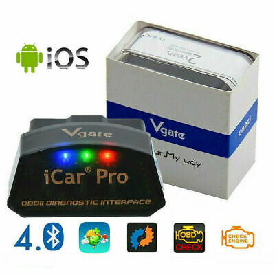 High-quality Vgate iCar OBDII Adpater Auto Bluetooth 4.0 OBD2 Diagnostic Scanner