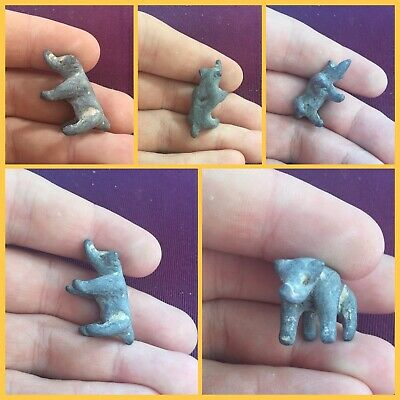 Rare ancient Celtic lead boar c 1st Century bce