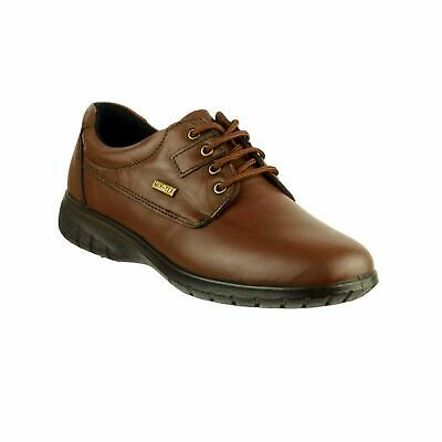 Cotswold Ruscombe Womens Brown Smart Waterproof Leather Lace Up Shoes