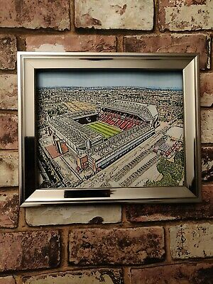 Liverpool FC Anfield A4 Poster Print