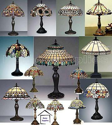 Tiffany Handcrafted Table Lamp Medium Size ( 12 Inch Wide ) Ideal Christmas Gift