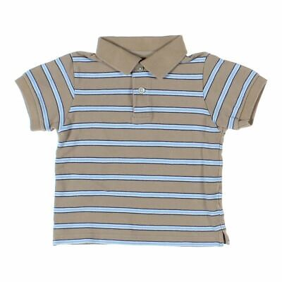 The Children's Place Baby Boys  Polo Shirt, size 24 mo,  beige, light blue