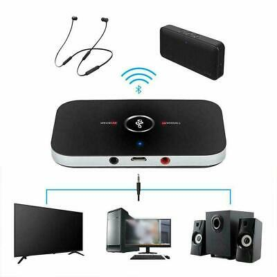 2 in 1 Bluetooth V4 Transmitter & Receiver Wireless 3.5mm New Audio Aux A2D C9E5