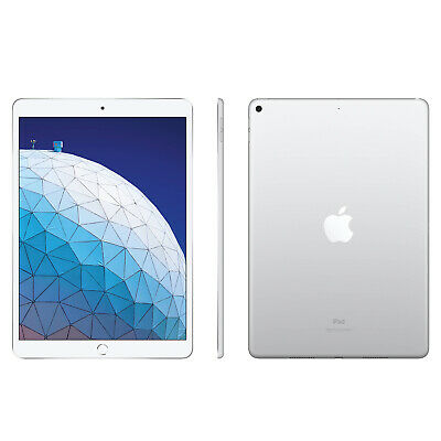"Apple iPad Air  2019 64GB 10.5"" 3rd Generation WiFi Silver - UK Model Sealed Box"