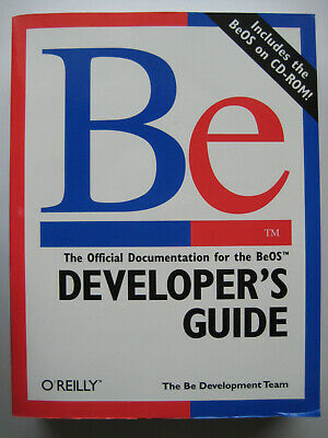 BeOS - Official documentation - Developers Guide - 1997 - 934 pages + CD-ROM