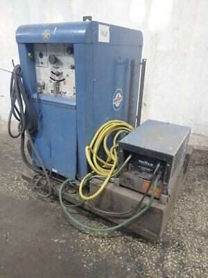 Miller 330A/B/Sp Welder W/ Coolant Unit & Cart 300A 06191230002