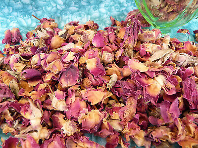DRIED ROSE PETALS & BUDS 100g Potpourri Confetti Soapmaking Bath Salts