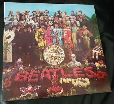 The Beatles Sgt Pepper's Lonely Hearts Club Band Vinyl MINT - Late 80s pressing.