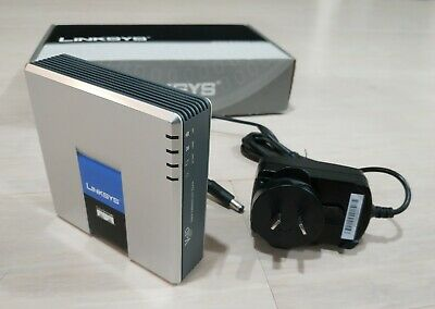 Linksys Cisco Voice Gateway With Router Spa3102-Au Nbn Voip Ata Unlocked.