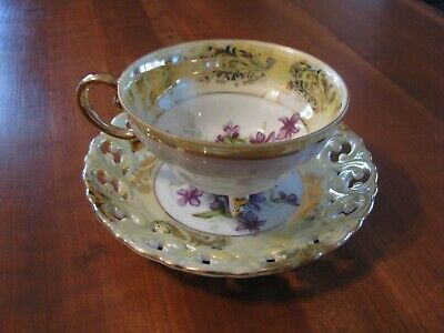 "Vintage ""Royal Sealy China"" Teacup & Saucer Japan"