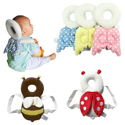 Newborn Head  Back Protection Pillow Cute Baby Toddler Wings Cushion Toys