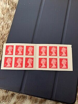 12 x Brand New Royal Mail 1st Class Stamps Self Adhesive Free P&P