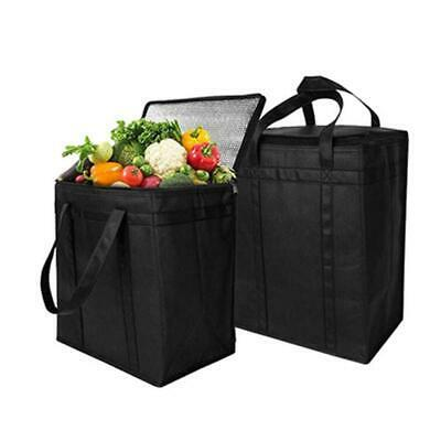 Lunch Bag Insulated Thermal Cool Bags Aluminium Foil Picnic Food Box Foldable