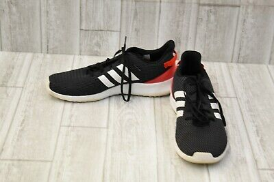adidas CloudFoam Racer TR Running Shoes, Men's Size 12.5, Black/White/Red