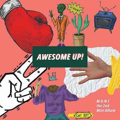 M.O.N.T - 2ND MINI [AWESOME UP!] (CD+BOOKLET+PHOTOCARD) (KpopStoreinUSA)