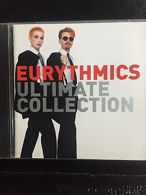 Eurythmics Ultimate Collection Used 19 Track Greatest Hits Cd 80s 90s 00s Pop