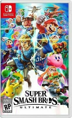 Super Smash Bros. Ultimate (Nintendo Switch, 2018) CARTRIDGE ONLY