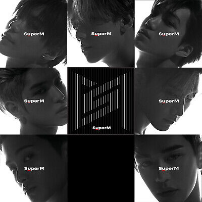SUPER M - 1ST MINI ALBUM ' SUPER M '(CD+BOOKLET+PHOTOCARD) (KpopStoreinUSA)
