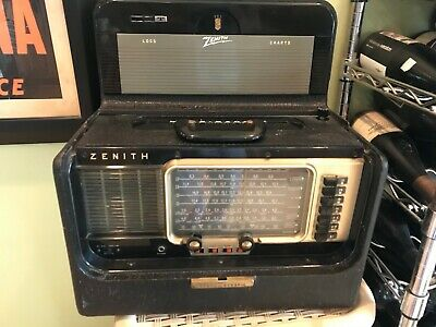 Zenith Transoceanic Model R600 In Beautiful Condition Listen To The Whole World