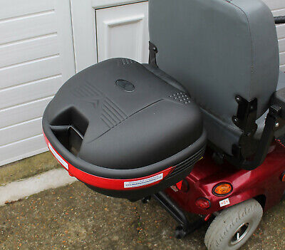 Mobility Scooter Rear Shopping Locking Secure Detachable Storage Box 35 ltr BN