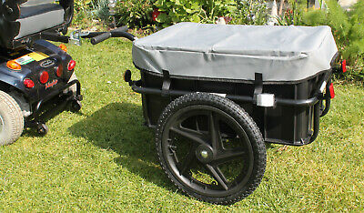 Mobility Scooter Rear Cargo Towing Trailer X Large Tow Transport Attachment New