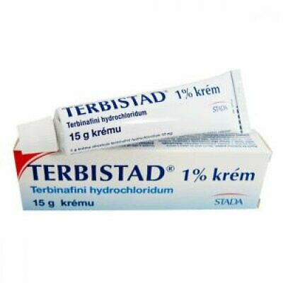 Terbistad 1% cream - treat patients with fungal or yeast skin infection 7,5/15ml