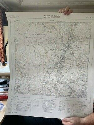 Vintage Ordnance Survey Map National Grid plans Lancashire Scale 1:10,560
