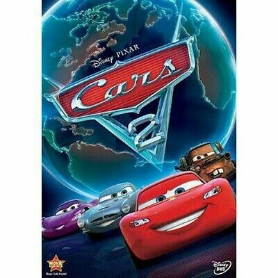 Cars 2 (DVD, 2011) New & Sealed Slipcover Included Free Shipping