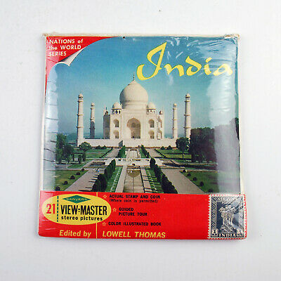 Vintage Sawyers View-Master Reel Packet No B 235 : India