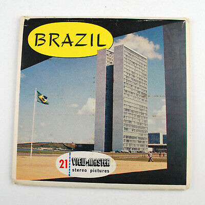 Vintage Sawyers View-Master Reel Packet No B 057 : Brazil