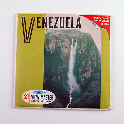 Vintage Sawyers View-Master Reel Packet No B 050 : Venezuela