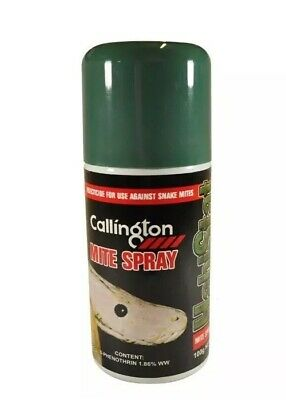 Callington Reptile Mite Spray 100g Brand New Sealed Free Post