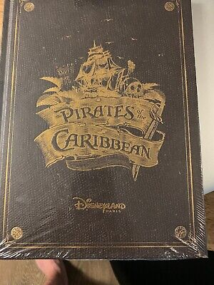 Livre Pirates Des Caraibes Disneyland Paris Neuf Book Pirates Of Caribbean Fr EN