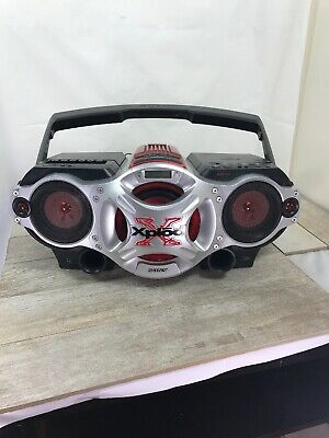Sony CFD-G700CP Xplod CD/Radio/Cassette/MP3 Player Boombox Speaker System