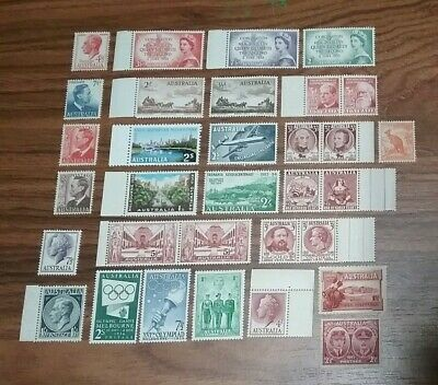 Australian stamps various. Predecimal  mint never hinged LOT XX