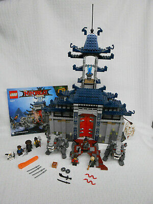 Lego 70617 Ninjago Movie Temple Of The Ultimate Weapon Used Complete No Box