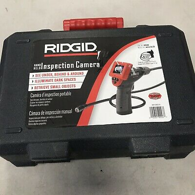 RIDGID Micro CA-25 Hand-Held Inspection Camera 4 ft Cable Reach 40043