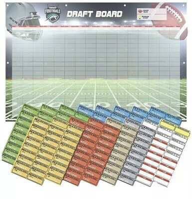 Fantasy Football 2019 Draft Kit : Color Coded Player Kit : Huge Banner
