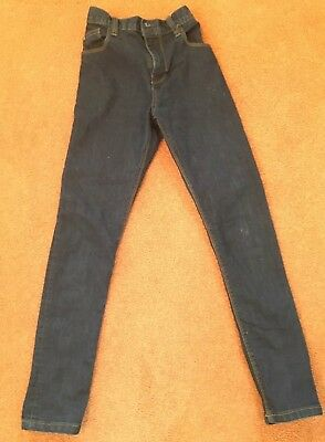 Boys Blue Skinny Jeans age 11 years from Next